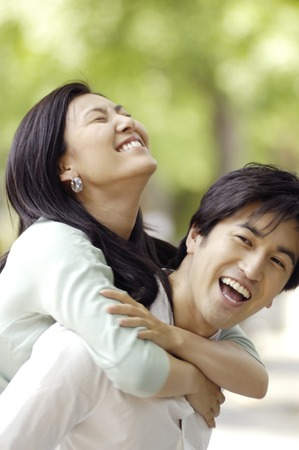 image date: Japanese couple