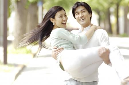 Japanese couple Stock Photo - 6193823