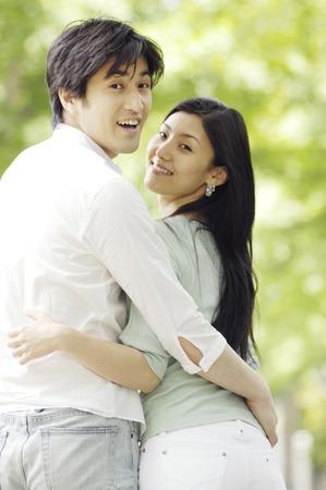 Japanese couple Stock Photo - 6193825