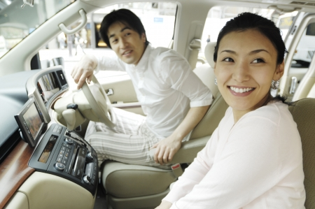 Japanese couple Stock Photo - 6193833