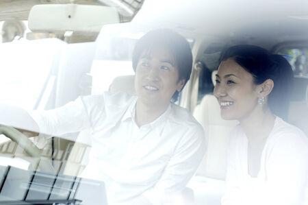 Japanese couple photo
