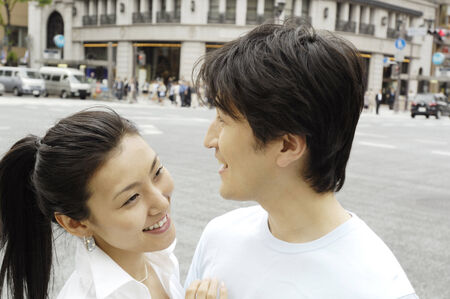 Japanese couple photo