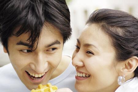 Japanese couple