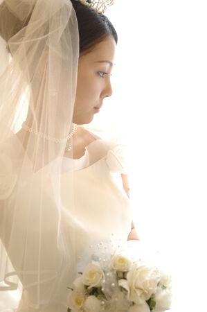 Portrait of bride Banco de Imagens