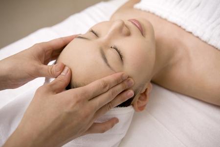 Beautytreatment Stock Photo