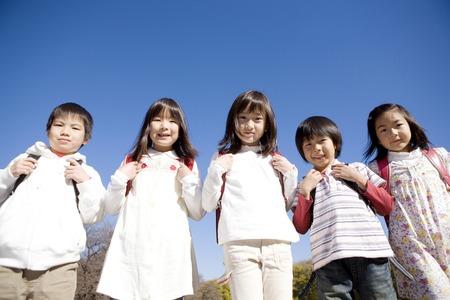 Japanese primary schoolchild