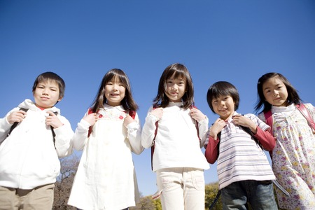 companions: Japanese primary schoolchild