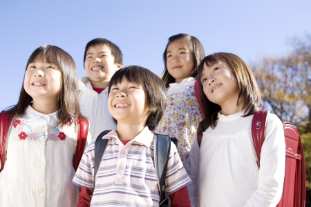 Japanese primary schoolchild Stock Photo - 6194692