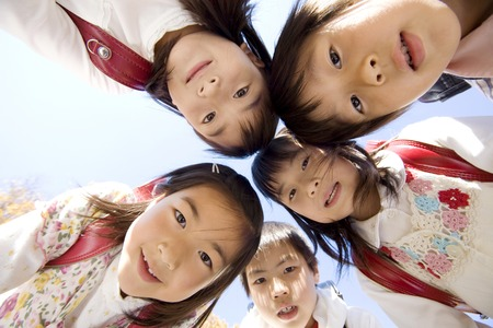 Japanese primary schoolchild Stock Photo - 6194695