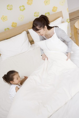 momma: Mother and daughter to talk in bed