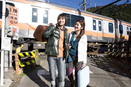 Train and couple