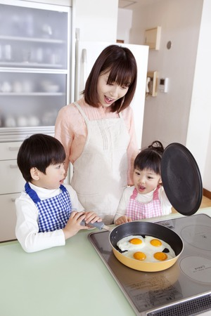 Women and boys to make egg dishes