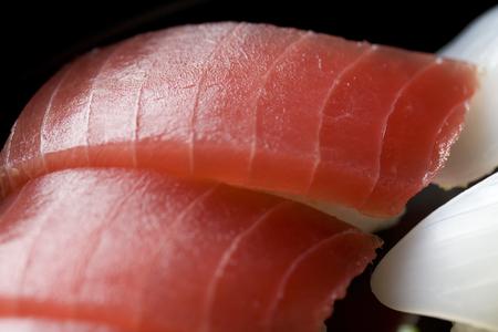 おいしいまぐろ寿司の寿司-クローズ アップ ショット