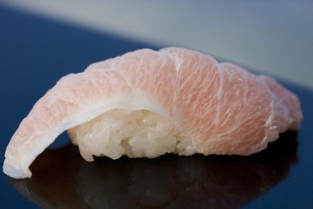 おいしい日本のとろ寿司の寿司-クローズ アップ ショット 写真素材