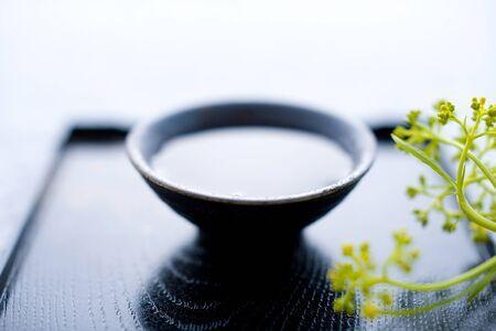 日本酒 写真素材