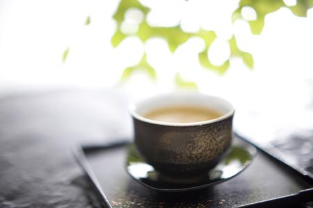 frigid: Tea Stock Photo