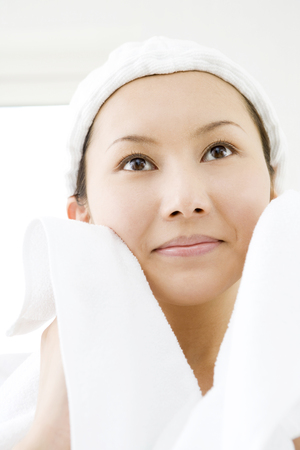facial cleansing: Facial cleansing