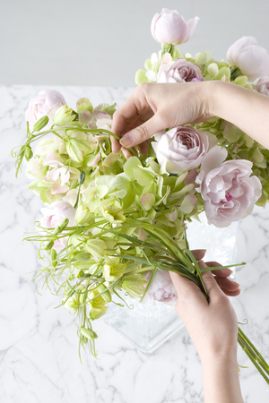 seres vivos: Arreglo floral