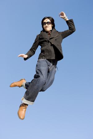 Jump Stock Photo