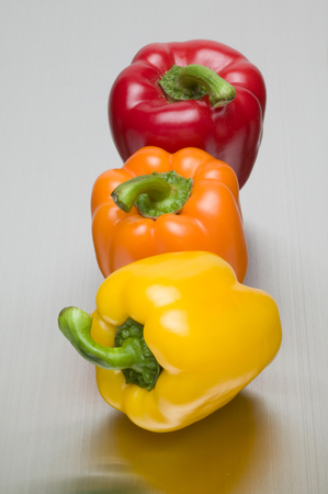 green pepper: Paprika Stock Photo