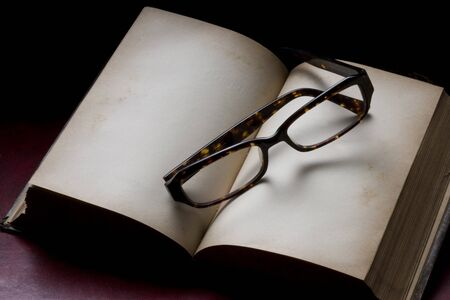 an antique: Antique book