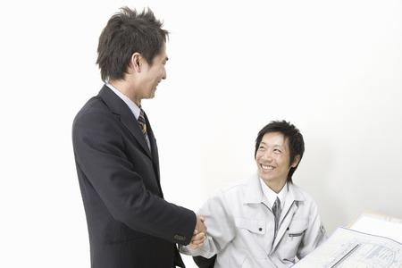 労働者およびビジネスマン