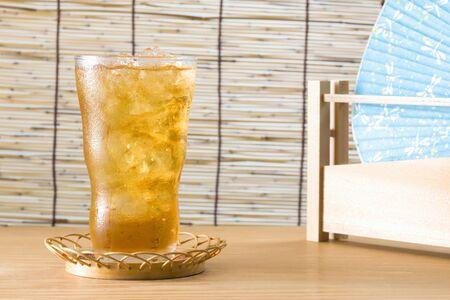 té helado: T? helado Foto de archivo