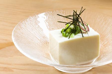 bean family: Cold tofu Stock Photo