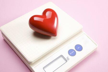 weigh machine: Heart
