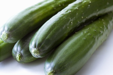 salubrious: Cucumber Stock Photo
