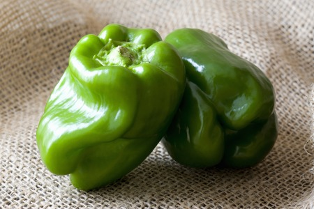 sureness: Green peppers