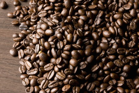 heaping: Coffee beans