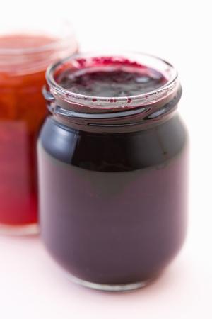 strawberry jam: Strawberry Jam Stock Photo