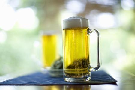 bubble acid: Draft beer
