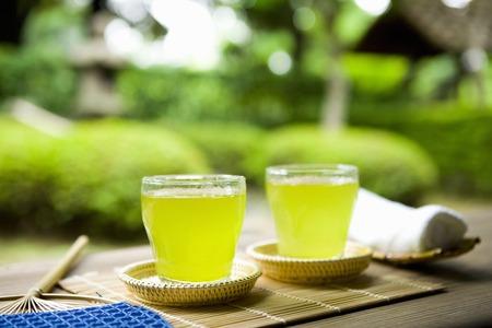 japanese tea garden: Summer images