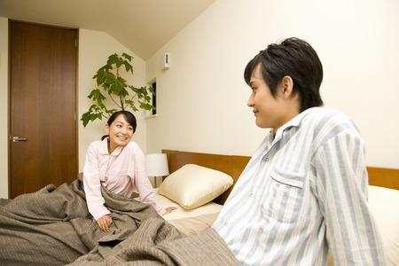 Husband and wife 版權商用圖片