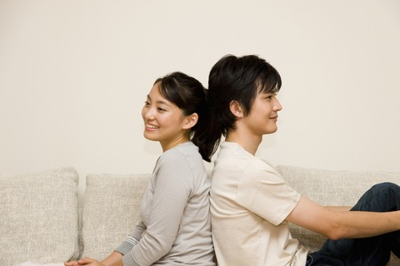 introspection: Couple Stock Photo