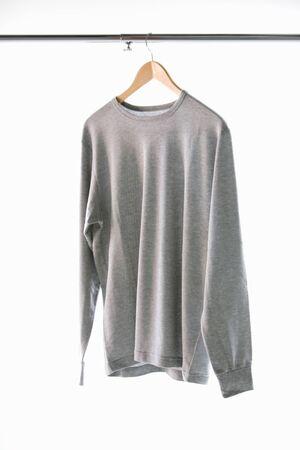 long: Long T-shirt Stock Photo