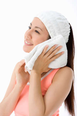 cleansing: Facial cleansing