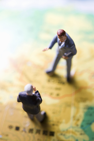 dealings: Businessman Stock Photo