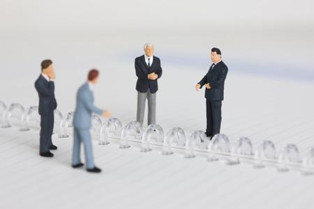conversaciones: Hombre de negocios