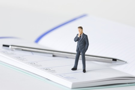 scaled down: Businessman Stock Photo