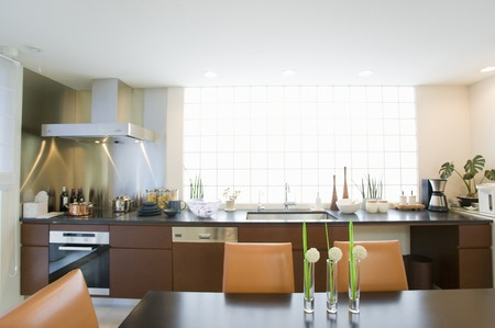 cleansed: Dining kitchen