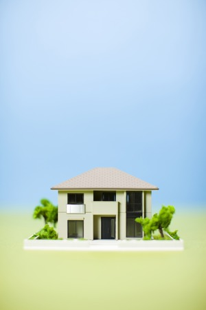 sureness: Ideal home Stock Photo