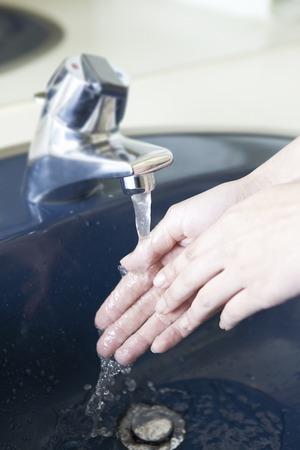 Hand washing Imagens
