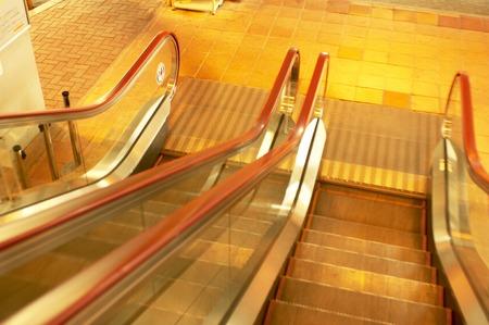 Escalator Reklamní fotografie