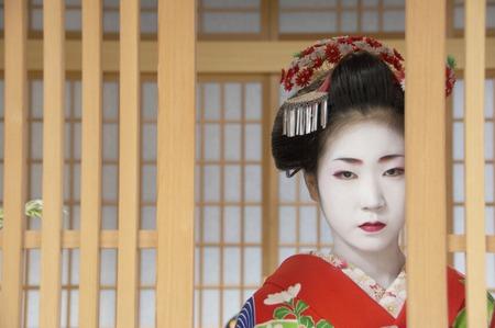 geisha kimono: Geisha Stock Photo