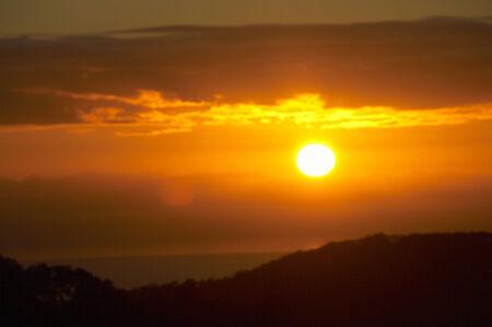 rinsing: Sunrise Stock Photo