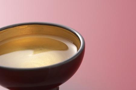sake: Sake Foto de archivo