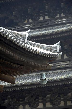 storied: Five-storied pagoda
